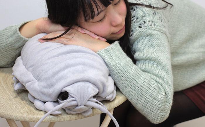 Giant isopod plush