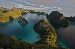 """These Raja Ampat Islands are thought to have the greatest marine diversity on earth. By exploring islands like these in the Malay Archipelago (modern day Indonesia), Alfred Russell Wallace (the ""father of biogeography"") discovered the Wallace Line and crafted a theory of evolution by natural selection. Biogeography can play a similarly important role in the search for underlying drivers of economic development.""  Author: Jonathan Chase"