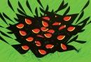 Redwing Blackbirds by Charley Harper