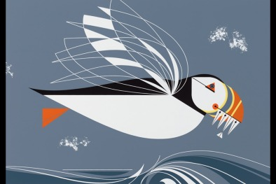 Charley Harper, The Name is Puffin, 1971
