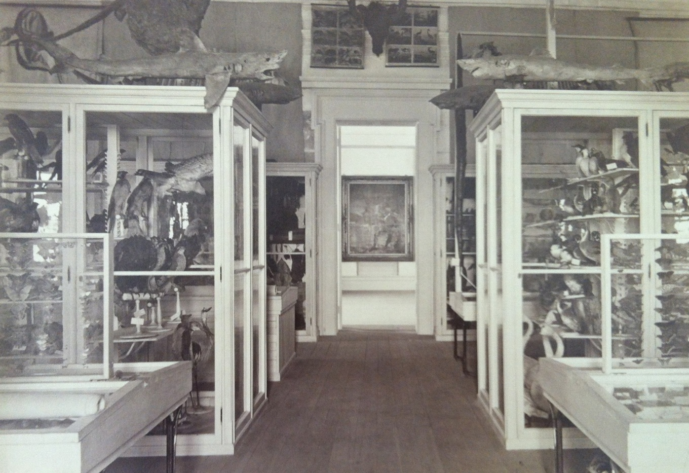 The original Jenks Museum (date unknown)