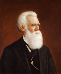 Portrait of John Whipple Potter Jenks.  Image: Brown University.