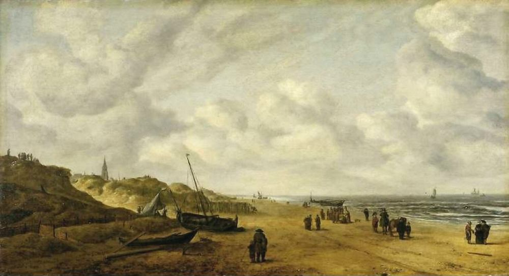 Scheveningen Sands by Hendrick van Anthonissen