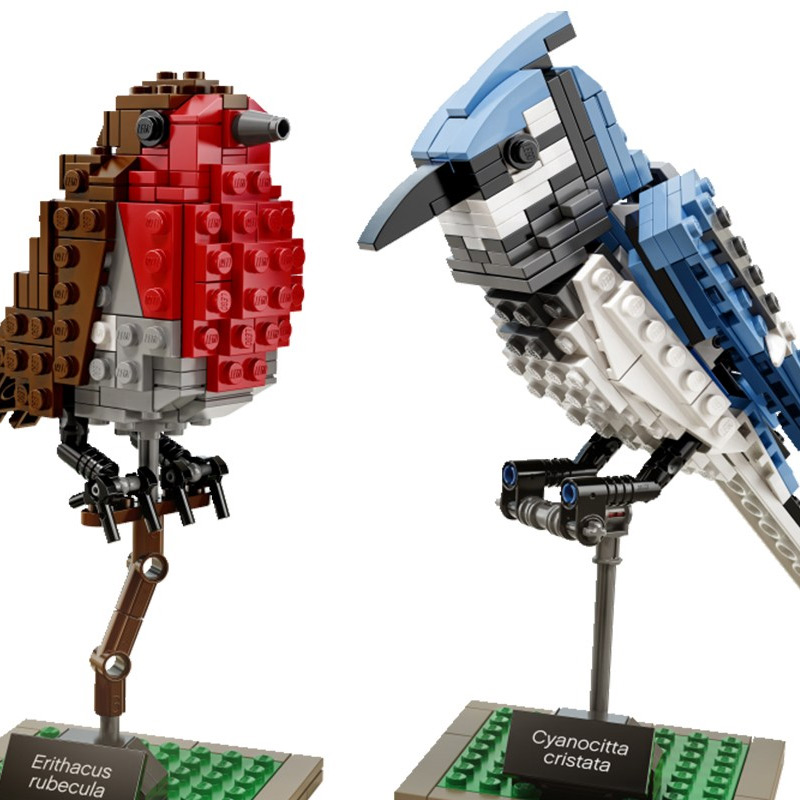 Detail: LEGO birds by Thomas Paulsom