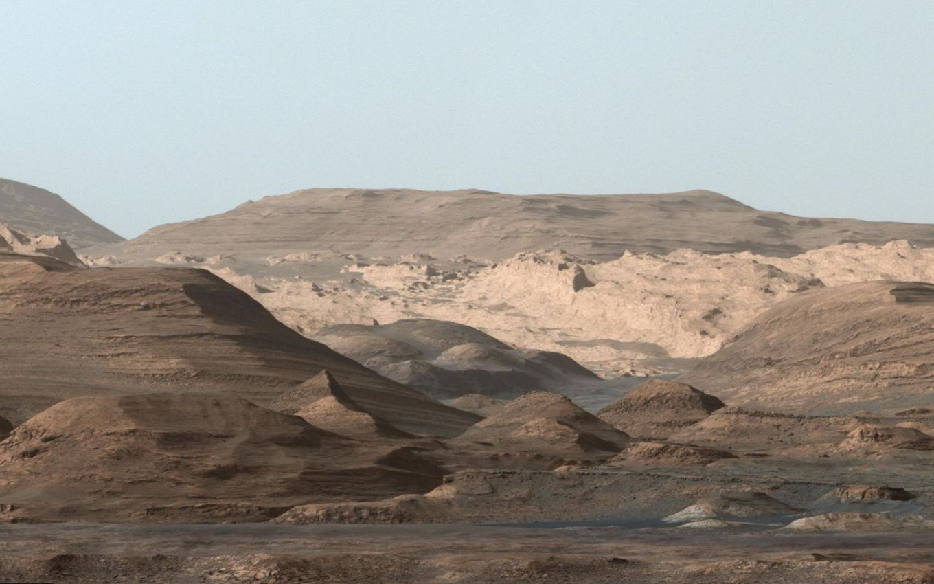 Mount Sharp 'postcard'